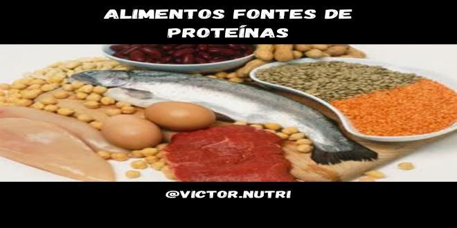 ALIMENTOS FONTES DE PROTE�NAS