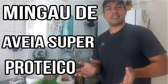 MINGAU DE AVEIA PROTEICO - WHEY PROTEIN E CLARA DE OVO