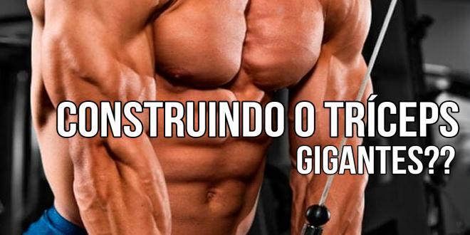 CONSTRUINDO O TR�CEPS GIGANTES.