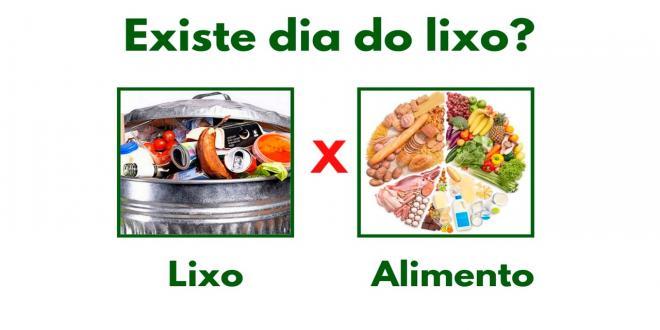 DIA DO LIXO EXISTE?